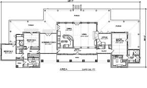 ranch style house plan 3 beds 2 5 baths 2693 sq ft plan 140 149
