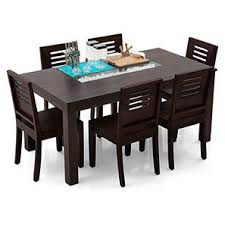 6 seater dining table and chairs brighton capra 6 seater dining table set mahogany finish