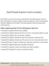 ccna resume examples top8firewallengineerresumesamples 150614071402 lva1 app6891 thumbnail 4 jpg cb 1434266085