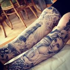 body art and art tattoo design idea for men and women