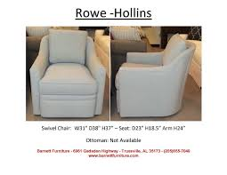 Club Swivel Chairs by Barnett Furniture Swivel Swivel Gliders