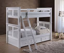 White Bunk Bed With Trundle Gary White Mission Bunk Bed White Bunk Bed