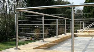 Stainless Steel Banisters Advantages Of Stainless Steel Balustrades Video Dailymotion