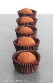 3 ingredient dark chocolate truffles slice of kitchen life