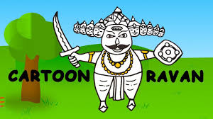 happydiwali 2017 best wishes cartoon ravan sketch sketches for