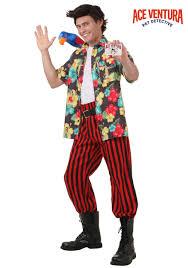 mens halloween wigs ace ventura costume with wig walmart com