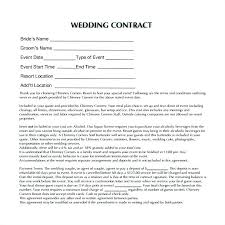 wedding planner contracts sle wedding planner contract destination printable free