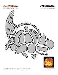 pumpkin carving thanksgiving template festival collections