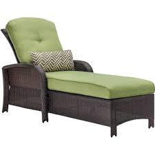 hanover strathmere all weather wicker patio luxury chaise with