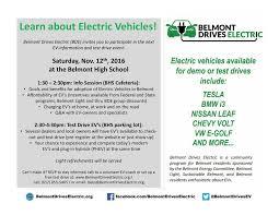 belmont drives electric blog
