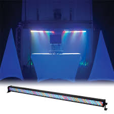Led Blue Light Bar by Adj American Dj Mega Bar Rgba 42 Inch Led Light Bar Pssl