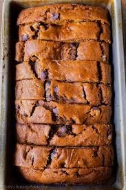 pumpkin chocolate chip bread sallys baking addiction