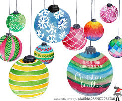 hand painted christmas clipart clipground