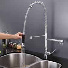 touchless faucet kitchen kitchen best touchless kitchen faucet best commercial style