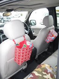 Diy Car Decor Diy Car Seat Organizer Home Design Ideas