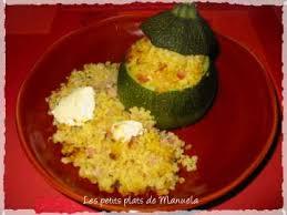 cuisiner courgette ronde courgettes rondes farcies au boulgour les petits plats de manuela