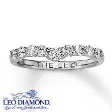 leo diamond ring jared leo diamond enhancer ring 1 2 ct tw cut 14k white gold