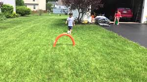 diy pool noodle soccer goals youtube