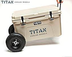 titan cooler wheels kit compatible with yeti 35 and yet https