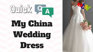 wedding dress version china wedding dress q a version the woods way