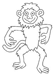coloriage singes singes 1 à colorier allofamille