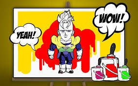 draw dbz coloring book apk download free casual game