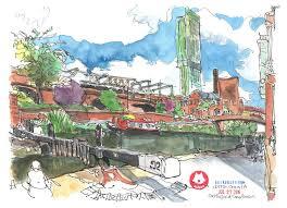 uk trip part 2 usk manchester urban sketchers