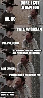 Magician Meme - rick and carl long meme imgflip
