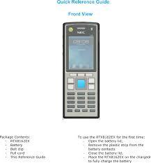 ct816x dect handset user manual rtx hong kong ltd