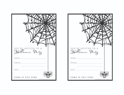 9 fun u0026 stylish ideas for halloween weddings a printable invitation