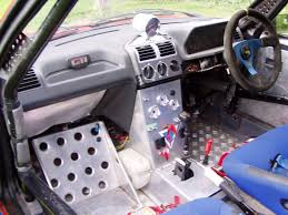 peugeot car interior peugeot 205 gti rally car
