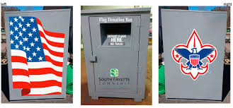 How To Dispose An American Flag Flag Retirement Facility South Fayette Township Pa Official