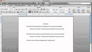 how to write a citation in a paper word hanging indent mac youtube