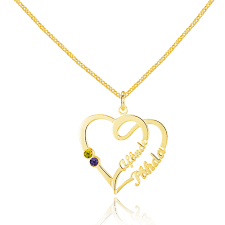 name necklace gold name necklace custom name necklace birthstone necklace engraved