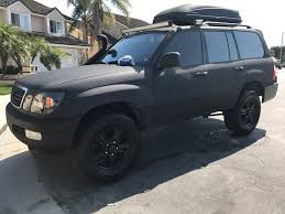 lifted lexus lx 570 for sale 99 lx470 lifted bedlinered and ready to roll socal