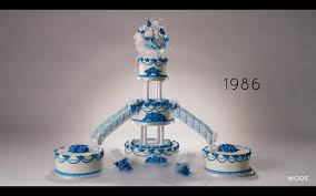 wedding cakes 2016 100 years of wedding cakes in less than 3 minutes