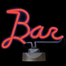 Neon Bar Lights Bar Neon Sign Light In Red Novelty Lighting Amazon Co Uk
