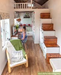 Box Stairs Design How To Avoid A Ladder In Your Tiny House