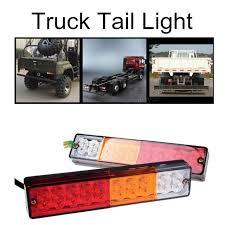 trailer tail lights for sale one pair 12v 24v 20 led tail light boat trailer truck ute cavaran