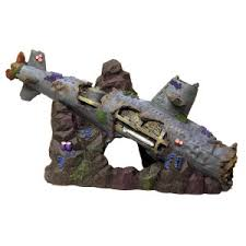 top fin sunken ship aquarium decoration ornaments petsmart