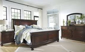 Ashley Signature Furniture Bedroom Sets by Furniture Ashley Furniture Porter Collection Uses A Deep Finish