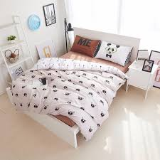 yadidi 100 cotton rainbow owl bedding set cartoon modern flower