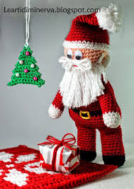 Amigurumi Christmas Ornaments - 200 best christmas santas images on pinterest crochet