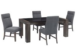 ashley signature design chansey 5 piece rectangular dining table