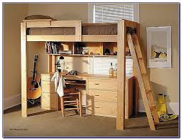 Study Bunk Bed Frame With Futon Chair Loft Bed With Futon Chair Hotcanadianpharmacy Us