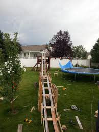 marvelous diy backyard roller coaster awesome design home design