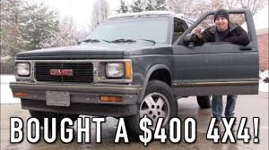 gmc jimmy 1994 in depth tour u0026 snowy cold start of my 400 gmc jimmy youtube