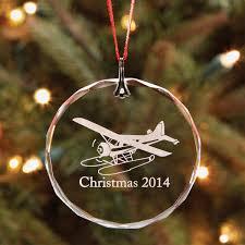 sporty u0027s 2014 crystal christmas ornament from sporty u0027s pilot shop