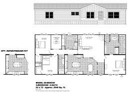 manufactured home floor plans california