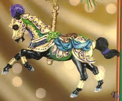 2003 carousel ornament by breyer